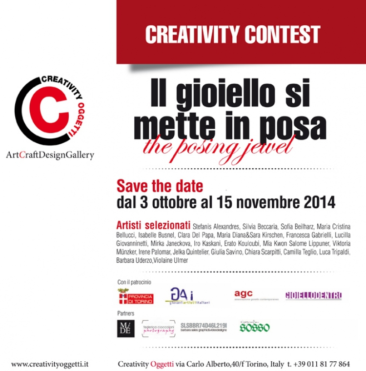 CREATIVITY CONTEST-Save the date 2014